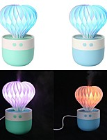 cheap -Blue Prickly Pear Humidifier Mini USB Air Purifier Colorful Night Light Atomizer Humidifier Small Gifts