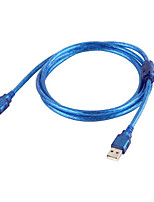 cheap -USB 2.0 Male to Male Data Cable Cord USB2.0 Extension Data Cable USB 2.0 Type A Male to USB Male Adapter 1.5m