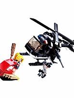 Недорогие -Конструкторы Конструкторы Игрушки Обучающая игрушка 221 pcs Мультфильмы Самолет совместимый Legoing утонченный Ручная работа Декомпрессионные игрушки Сделай-сам Мальчики и девочки Игрушки Подарок
