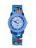 cheap -Kids Sport Watch Automatic self-winding Ocean Blue Water Resistant / Waterproof Analog Cartoon - Blue