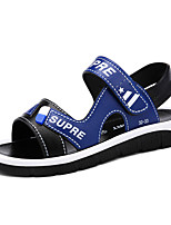 cheap -Boys' Comfort PU Sandals Little Kids(4-7ys) / Big Kids(7years +) Walking Shoes Red / Blue / Brown Summer / Fall / Color Block