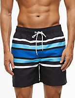 cheap -Men's Swim Shorts Swim Trunks Bottoms Breathable Quick Dry Drawstring - Swimming Diving Surfing 3D Print Autumn / Fall Spring Summer