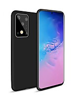 cheap -Case For Samsung Galaxy Galaxy A20/S20P/S20U/ S10 / S10 Plus /S10 E /M10/M20/A51/A71/A50/A70 Frosted Back Cover Solid Colored TPU