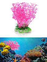 cheap -Fish Tank Decoration Simulation Artificial Trumpet Environmental Aquarium Accessories Simulation Fake Aquatic Plants