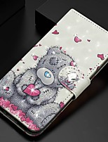 cheap -Case For Samsung Galaxy A51/ Galaxy A20e / Galaxy Note 10 Plus Wallet / Card Holder / Rhinestone Full Body Cases Panda PU Leather For Galaxy A71/A10S/A20S/M30S/A2 Core/A10E