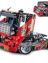 cheap -Building Blocks Car DIY Toys 608 pcs Truck compatible Plastic Shell Legoing Cool DIY Parent-Child Interaction Boys and Girls Toy Gift / Kids