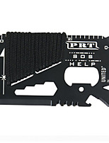 cheap -14 In 1 Outdoor Multi-purpose Knife Card Umbrella Rope Survival Tool