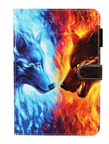 cheap -Case For Apple iPad 10.2 / iPad Mini 3/2/1 /Mini 4/5 Wallet / Card Holder / with Stand Full Body Cases Animal PU Leather For iPad Pro 9.7/New Air 10.5 2019/Air 2/2017/2018