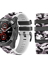 cheap -Replacement Band Sport Silicone Watch Band For Garmin Fenix6X/Fenix6X Pro/Fenix 3 HR/Fenix 5X/Fenix3 Watchband 26mm Watch Strap