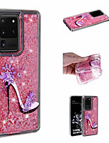 cheap -Case For Samsung Galaxy S9 / S9 Plus / S8 Plus Shockproof / Flowing Liquid / Pattern Back Cover Flower TPU