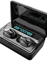 Недорогие -litbest t8 tws правда беспроводные наушники bluetooth 5.0 led power display 2000 мАч банк питания для смартфонов