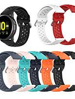 Недорогие -Ремешок для часов для Samsung Galaxy Watch 42 / Samsung Galaxy Active / Samsung Galaxy Watch Active Samsung Galaxy Спортивный ремешок / Классическая застежка / Современная застежка силиконовый