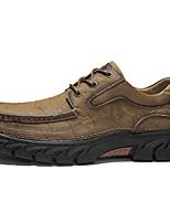 cheap -Men's Summer Outdoor Sneakers PU Non-slipping Light Brown / Black / Khaki
