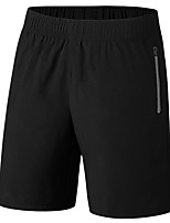 "cheap -Men's Hiking Shorts Summer Outdoor 10"" Loose Breathable Quick Dry Sweat-wicking Comfortable Cotton Shorts Bottoms Camping / Hiking Hunting Fishing Black L XL XXL XXXL 4XL / Wear Resistance"