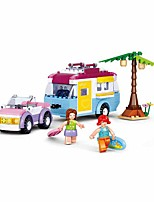 cheap -Building Blocks Educational Toy Construction Set Toys 272 pcs Holiday Cartoon Beach compatible Plastic Shell Legoing Exquisite Hand-made Decompression Toys DIY Boys and Girls Toy Gift / Kid's