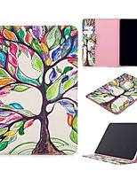 Недорогие -Кейс для Назначение Apple iPad Air / iPad 4/3/2 / iPad Mini 3/2/1 Кошелек / Бумажник для карт / со стендом Чехол дерево Кожа PU