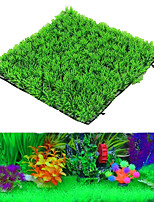 cheap -25*25cm Aquarium Turf Artificial Plants Green Grass Fish Tank Landscape Simulation Aquatic Water Lawn