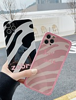 cheap -Case For Apple iPhone 11 / iPhone 11 Pro / iPhone 11 Pro Max Shockproof Back Cover Lines / Waves TPU
