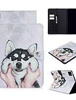 cheap -Case For Apple iPad Air/iPad 4/3/2/Mini 3/2/1 Wallet / Card Holder / with Stand Full Body Cases Dog PU Leather For iPad Pro 9.7/New Air 10.5 2019/Pro 11 2020/Mini 5/2017/2018/ipad 10.2