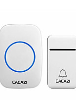 cheap -CACAZI FA12 Self-Powered Wireless Doorbell Waterproof Smart No Battery Home Cordless Bell 200M Remote 38 Chimes