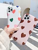 cheap -Case For Apple iPhone 11 / iPhone 11 Pro / iPhone 11 Pro Max Shockproof Back Cover Tile / Heart TPU