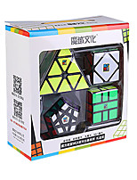 cheap -Speed Cube Set 4 PCS Magic Cube IQ Cube Pyramid Alien Megaminx 3*3*3 Magic Cube Puzzle Cube Professional Level Stress and Anxiety Relief Focus Toy Classic & Timeless Kid's Adults' Toy All Gift