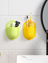 cheap -Cartoon Creative Punch-free Silicone Storage Rack Cute Sucker Suction Wall Mount Holder Random Color