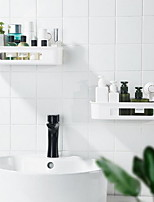 cheap -Multifunctional Suction Cup Storage Box Bathroom Suction Cup Rack Kitchen Toilet Suction Wall Type Punch-free Storage Basket