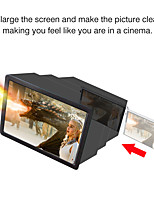 cheap -Mobile Screen Amplifier 3D Mobile Screen Magnifier Foldable Mobile Amplifier F2