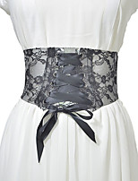 cheap -Metalic / Lace Wedding / Party / Evening Sash With Belt Women's Sashes