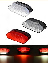 cheap -30 LED Motorcycle Tail Light ATV Rear Brake Stop Running License Plate Integrated