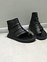 cheap -Men's Summer Outdoor Sandals PU Black