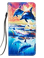 cheap -Case For Samsung Galaxy S10 5G/S20 Ultra/S10E Wallet / Card Holder / with Stand Full Body Cases Animal PU Leather For Galaxy Note 10 Plus/A01/A51/A71/A10/A20/A20E/A30/A50/A70/S20 Plus