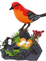cheap -Singing Chirping Birds Electric Toys Garden Theme Motion Sensor Realistic Sounds Activation Body Plastic Shell For Adults Kids All