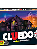 cheap -1 pcs Board Game Card Game Educational Toy Cluedo Party Game Home Entertainment Classic Mystery Game Adults Teenager Boys and Girls Toys Gifts
