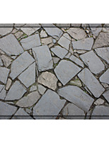 cheap -Ancient City Stone Road Print High Quality Memory Foam Bathroom Carpet and Door Mat Non-slip Absorbent Super Comfortable Flannel Bathroom Carpet Bed Rug