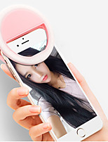 cheap -Portable Mini Mobile Phone LED Retardant Flash Lenses Beauty Self-timer Fill Light Smart Selfie For Phone