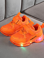 cheap -Boys' / Girls' LED Shoes Synthetics Trainers / Athletic Shoes Little Kids(4-7ys) / Big Kids(7years +) Yellow / Orange / Green Spring / Summer