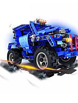 Недорогие -1:60 Игрушечные машинки Конструкторы Автомобиль внедорожник Фокусная игрушка Cool Своими руками Пластиковый корпус / Дети