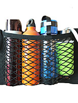 cheap -Car Accessories Organizer Car Trunk Net Nylon SUV Auto Cargo Storage Mesh Holder Universal For Cars Luggage Nets Travel Pocket
