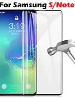 cheap -1PC Full Coverage Anti-fall Anti-scratch Samsung S10 E Plus S9 S8 Note9 Note8 Phone Screen Protection Toughened Film