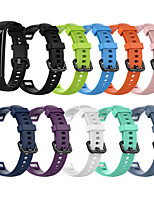 cheap -Watch Band for Huawei Honor Band 4 / HONOR Band 5 / Huawei Honor 5 Huawei Modern Buckle Silicone Wrist Strap