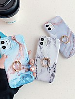 cheap -Case For Apple iPhone 11 / iPhone 11 Pro / iPhone 11 Pro Max Ring Holder / IMD / Pattern Back Cover Marble TPU