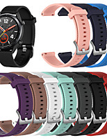 cheap -Watch Band for Gear S3 Classic / Samsung Galaxy Watch 46mm Samsung Galaxy Sport Band / Classic Buckle Silicone Wrist Strap