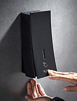 Недорогие -Распределитель мыла стены отжимать мыла пены 450ml черный установленный для домашней гостиницы