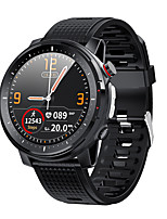 cheap -L15 SmartWatch ECG Heart Rate IP68 Waterproof Blood Pressure Music Control LED Torch Light VS L12 SG2 l13 Smart Watch