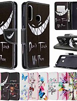 cheap -Case For Samsung Galaxy Galaxy S20 / Galaxy S20 Plus / Galaxy S20 Ultra Wallet / Card Holder / with Stand Full Body Cases Smirk PU Leather / TPU for Galaxy A51 / A71 / A70E / A41 / A11 / A01 / A21