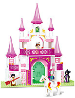 cheap -Building Blocks Educational Toy 271 pcs Castle Cartoon compatible Plastic Shell Legoing Exquisite Hand-made Decompression Toys DIY Boys and Girls Toy Gift / Kid's