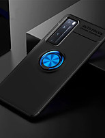 cheap -Metal Ring Case For Huawei Nova 7 / 7i / 7Pro / 7SE / 6SE / 6 / 5I Pro / 5Z / 5T Soft Matte Silicone Shockproof Back Phone Cover for Huwei P40 / P40Pro  / P40Lite / Honor 30 / 30 Pro / V30 / V30 Pro