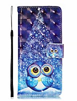 cheap -Case For Samsung Galaxy S9 / S9 Plus / S8 Plus Card Holder / Shockproof / Dustproof Back Cover Cartoon PU Leather / TPU